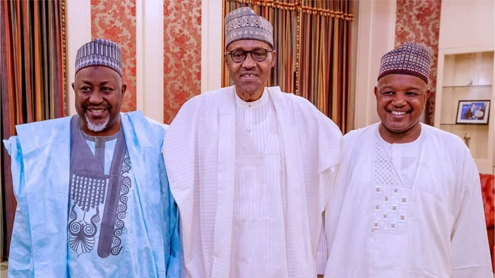 Bagudu, 2 other governors submit position to Buhari over APC crisis