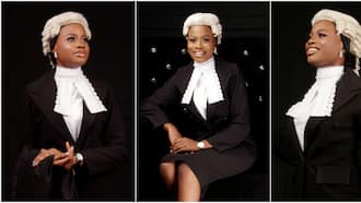 UI 1st class graduate emerges overall best in Nigerian Law School, adorable photos of her light up the net