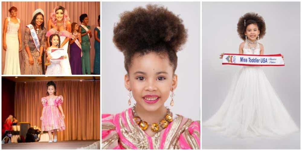 5-year-old Nigerian Girl Shines, Wins Miss Toddler USA 2021
