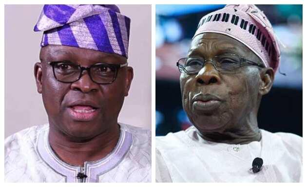 Yan Najeriya na sauraron yadda karshenka zata kasance - Fayose ya caccaki Obasanjo kan isgilinsa ga marigayi Kashamu