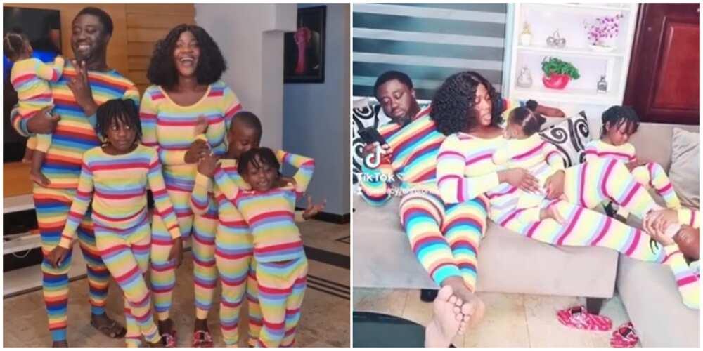 Mercy Johnson-Okojie celebrates Easter with her family in funny TikTok video