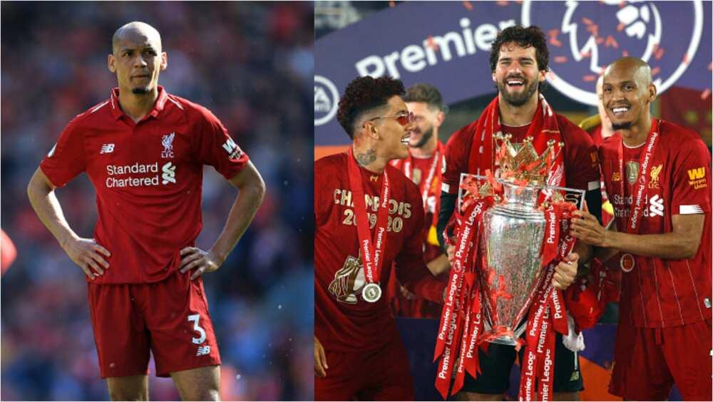 Fabinho's home robbed during Liverpool's Premier League celebrations