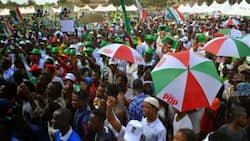 Benue council chairman under fire for shouting APC slogan at PDP rally