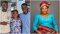 Mum who sold yoghurt & hot tea in Lagos to pay her kids' school fees wins, one of them now works with Google