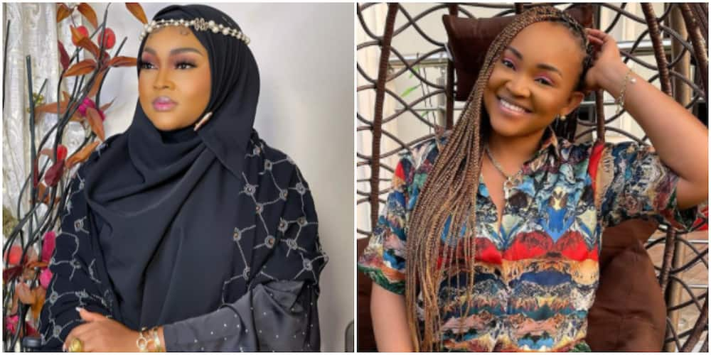 Alhaja Mercy: Fans Gush Over Stunning Photo of Actress Mercy Aigbe as She Rocks Beautiful Abaya and Veil