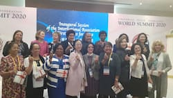 Patience Jonathan in Seoul, preaches gender equality, social justice