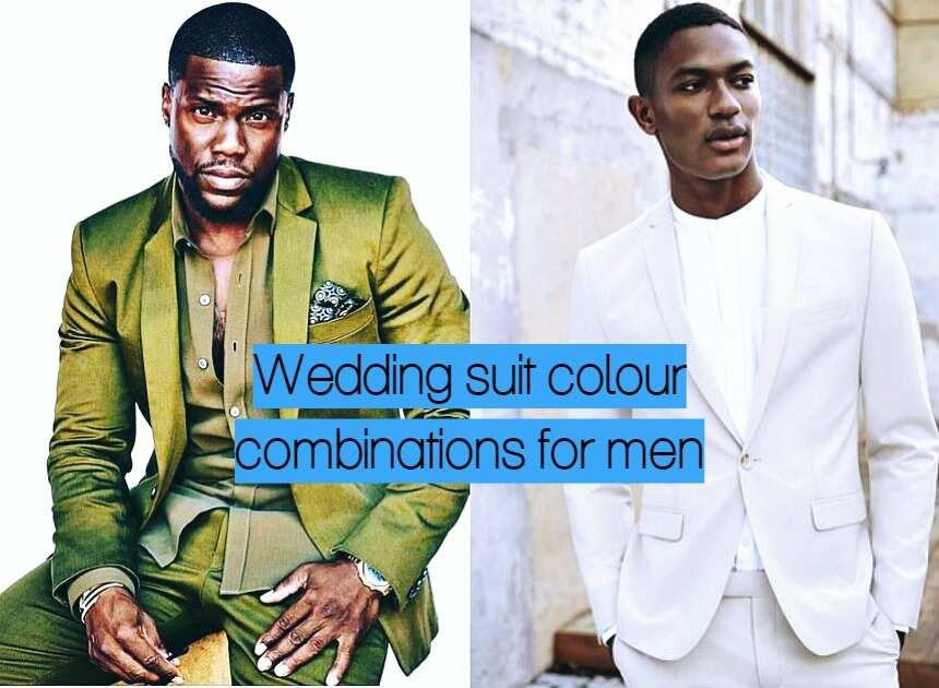 Best Wedding Suit Colour Combinations For Men In 2019