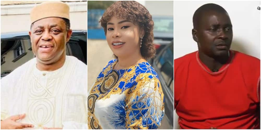 Femi Fani-Kayode's body guard reveals actress wife had 5 family members, 15 nannies living with them