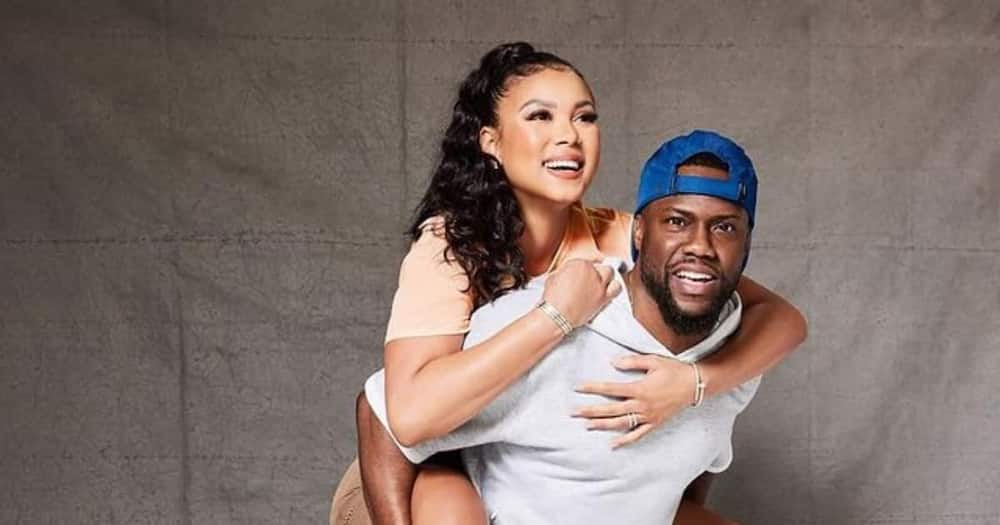 Kevin Hart and Eniko have been together for about 11 years.