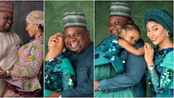 Gospel singer Solomon Lange and wife share beautiful family photos as they celebrate 4th wedding anniversary