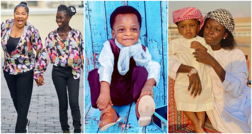Toyin Abraham's Step-Daughter Pens Heartfelt Note to Actress' Son As He Clocks 2