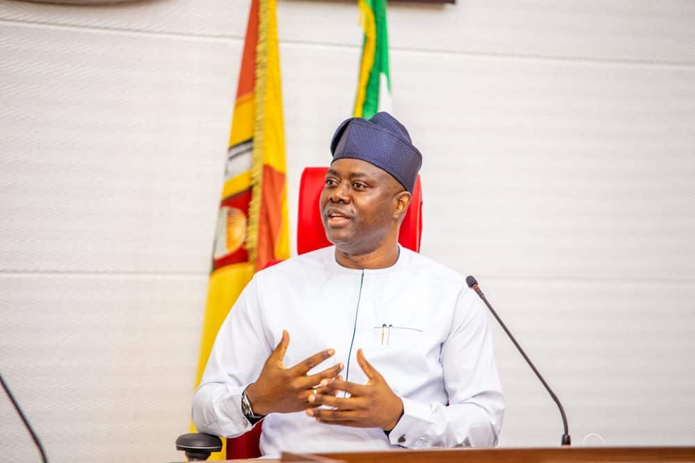 Makinde's aide says his boss is nursing presidential election.