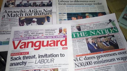 Newspaper review: NLC reacts to governors' proclamation, issues threat ahead of 2019