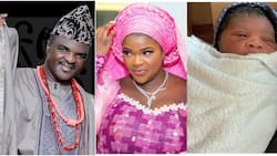 Fuji music star Obesere becomes a grandpa as daughter Susan welcomes baby boy (photos)