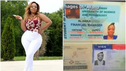 Ghana slay queen Moesha Boduong photos used in scamming US citizen (video)
