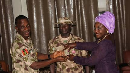 JUST IN: Nigerian Army decorates promoted officers (photos)