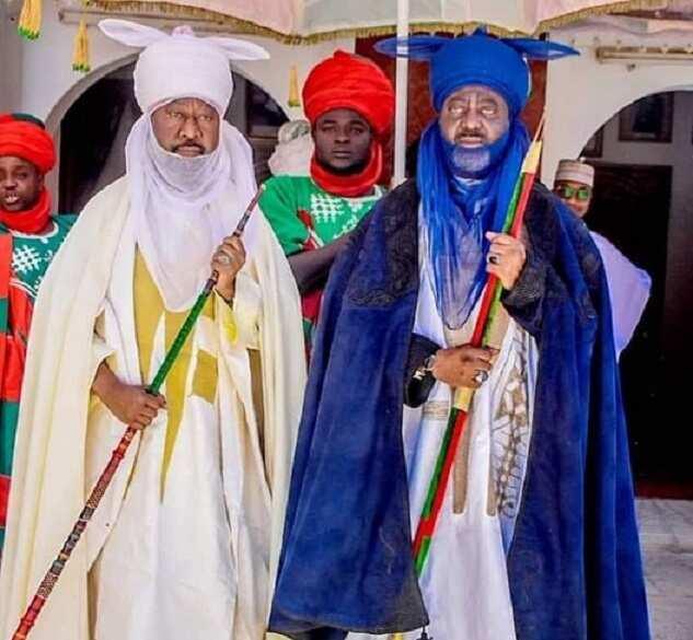 Sarkin Kano da Sarkin Bichi sun kai ziyarar mubaya'a ga sarkin Gwandu
