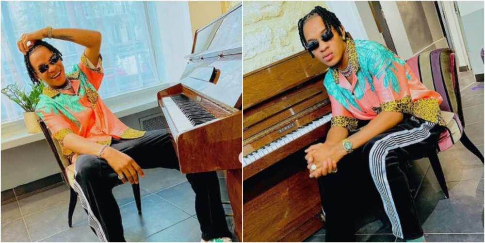 Europe-based Nigerian singer Don VS