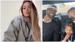 Khloé Kardashian spotted co-parenting with her ex Tristan Thompson and daughter True