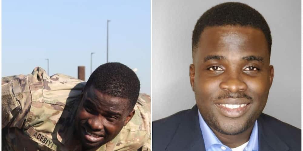 Babatunde Adebiyi Nigerian man set to leave the US Army for corporate world