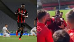Top European team celebrates Ahmed Musa's 29th birthday as players give him stunning gift in trending video