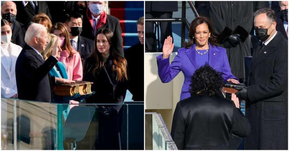 Breaking: Joe Biden, Kamala Harris sworn in as US president and vice president