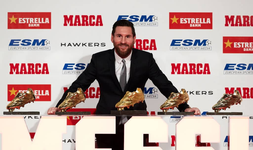 Messi scored a remarkable 50 goals in 52 matches for club and country in 2018