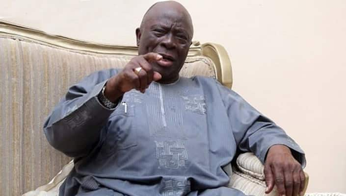 'Muna rokon Ubangijinmu ya yi mana maganin Buhari' - Ayo Adebanjo