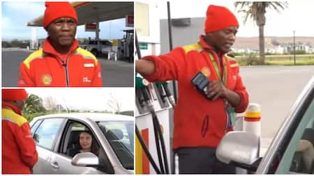 Kind filling station worker who paid for woman's fuel gets rewarded with 8 years worth of salary