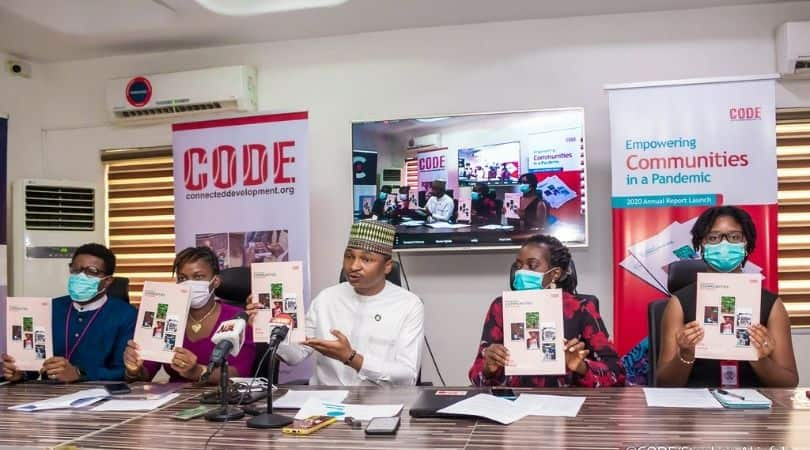 Hamzat Lawal asks National Assembly to prove COVID-19 funds as CODE Launches Annual Report