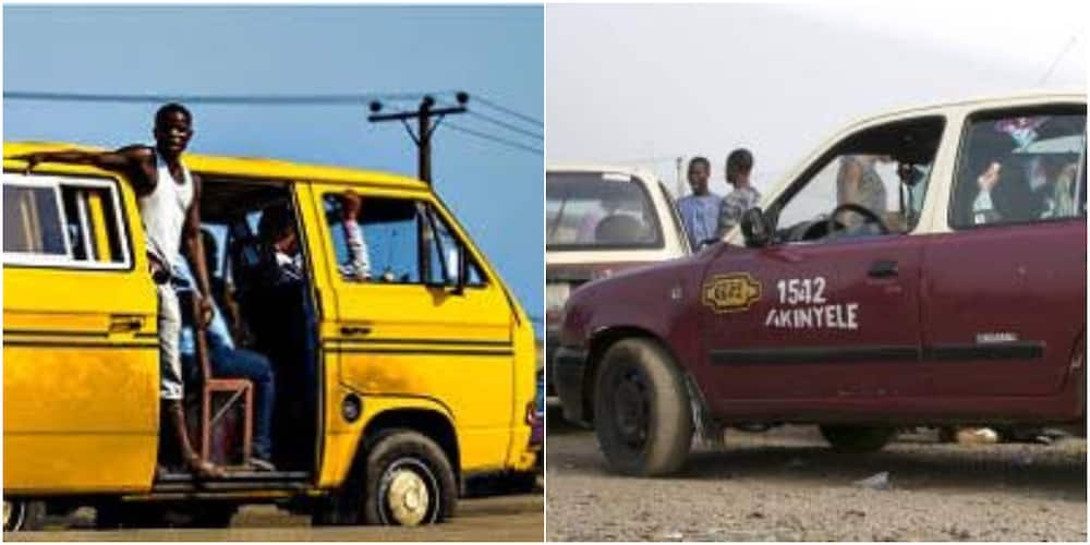 Who Drives Rough The Most? Massive Reactions as Man Compares Ibadan Micra With Lagos Danfo