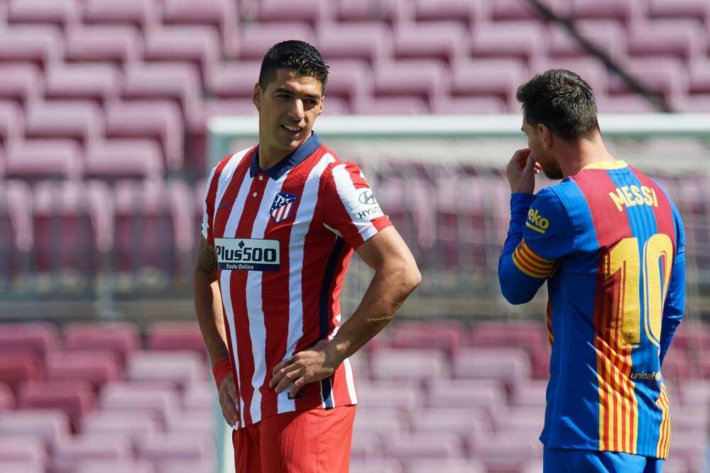 Suarez and Messi