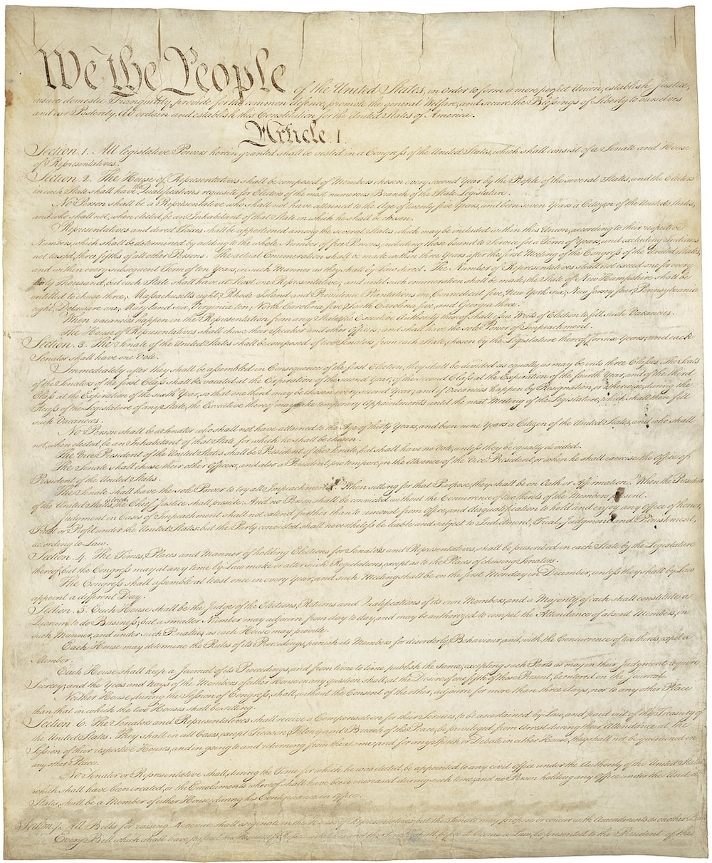 what types of constitutions exist