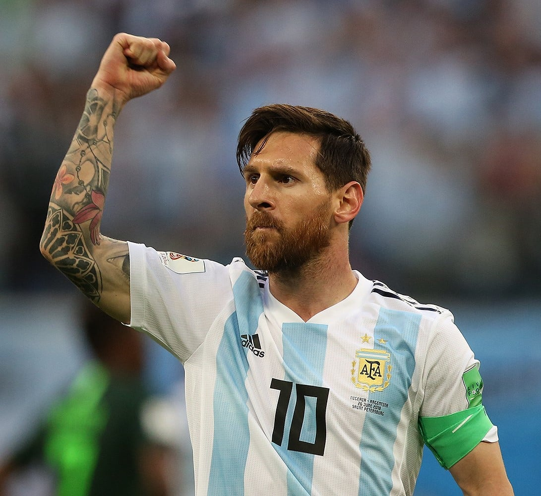 Lionel Messi: Fans vote Argentine the Greatest Player In ...
