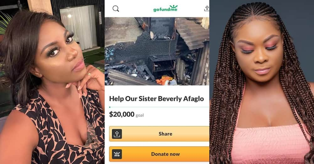 Yvonne Nelson sets up Go Fund Me account for Beverly Afaglo