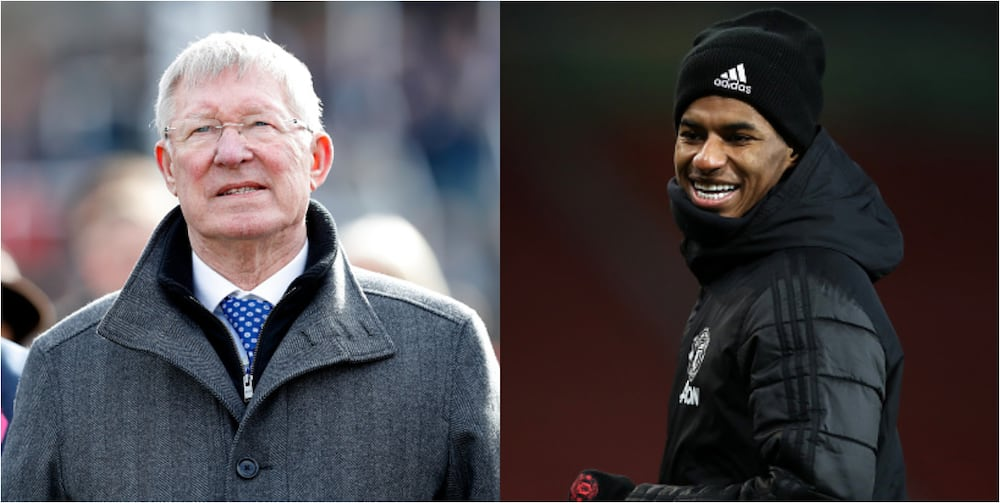 Legendary manager Ferguson pays tribute to Man United striker for his humanitarian deeds
