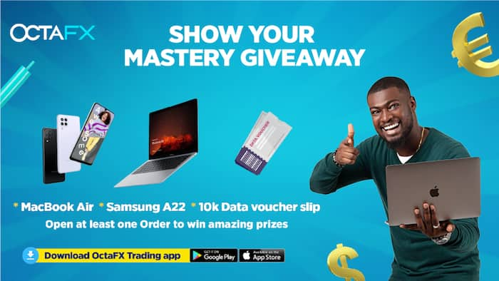 OctaFX Presents its Show Your Mastery Giveaway Campaign for Nigerians