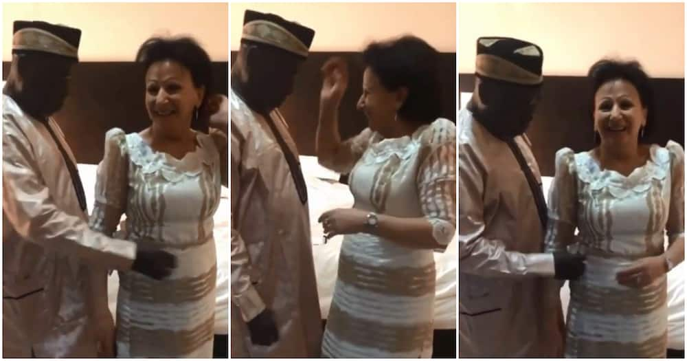 Daddy Freeze vs Pastor Ibiyeomie: Media personality shares adorable video of his parents