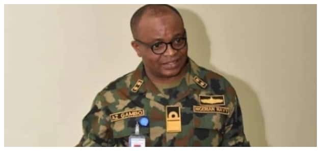 BREAKING: Gambo takes over as Chief of Naval Staff