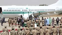 Service chiefs, IGP in Borno ahead Buhari's visit to northeast state