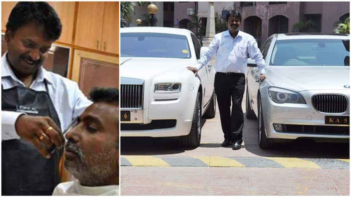 Image result for Ramesh Babu: Inspirational story of man who went from barber to billionaire