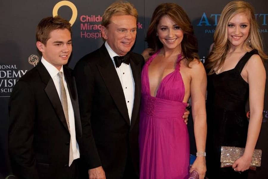 Image result for pat sajak family