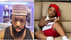 Singer Timaya shares adorable photo of his son as he clocks new age
