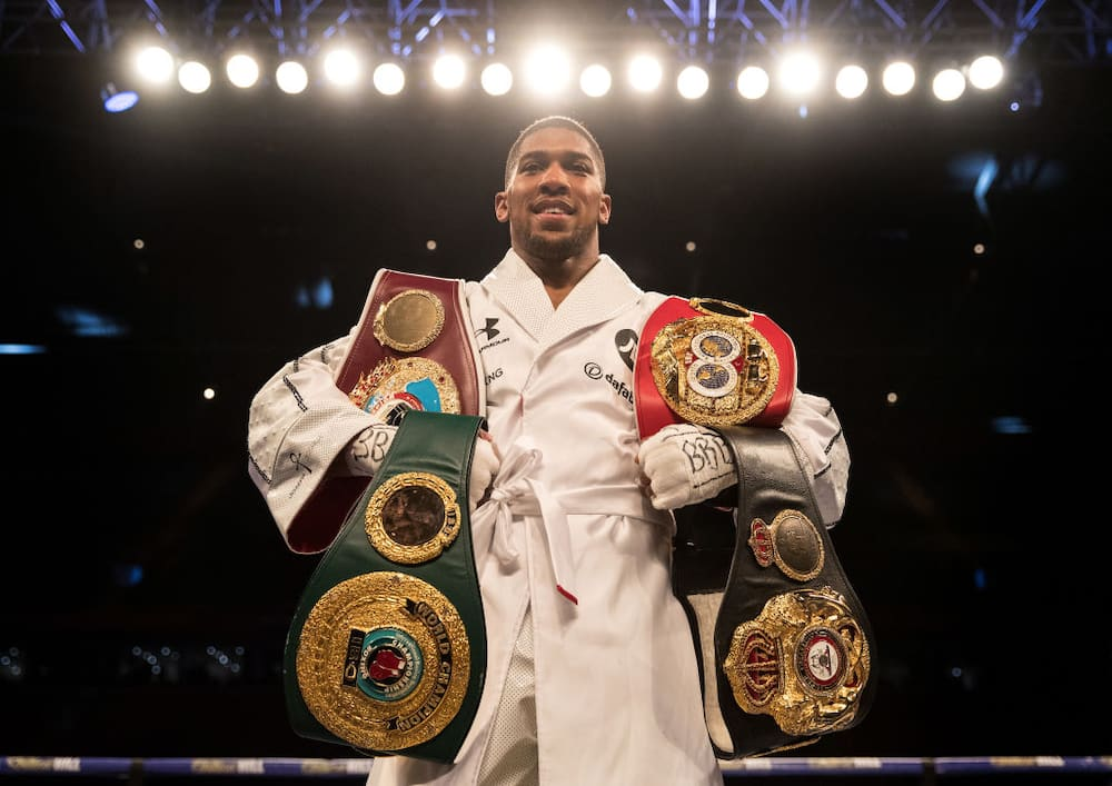 Anthony Joshua Makes Surprise Prediction In Tyson Fury Vs Deontay Wilder's Trilogy