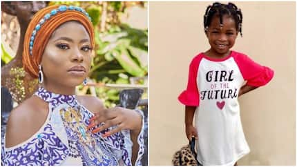 Between Sophia Momodu and fan who thinks Davido's daughter is not stylish