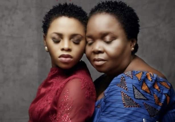 Singer Chidinma builds multi million naira mansion for her mom as 60th birthday gift (photos)