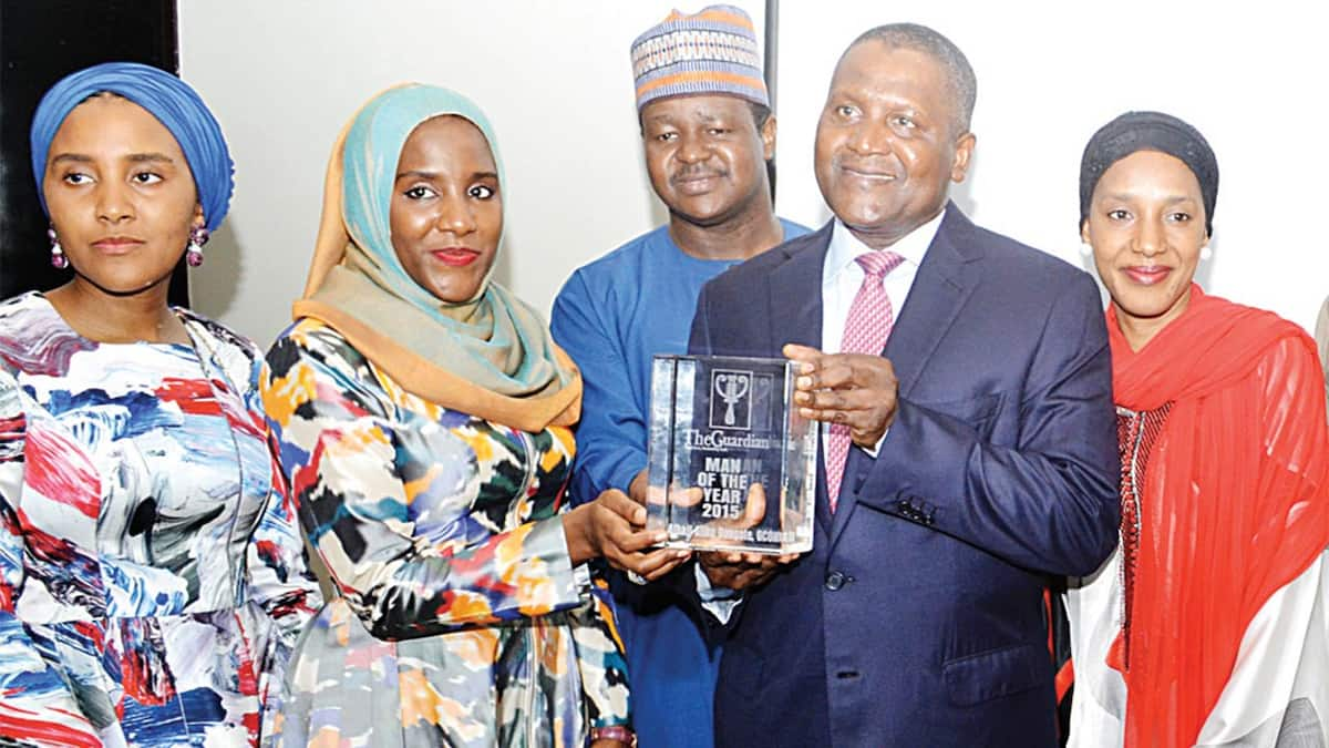 How many children does Dangote have? ▷ Legit ng