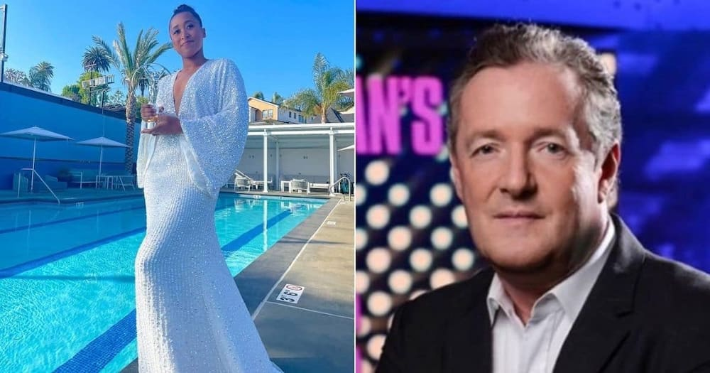 Television presenter Piers Morgan has lashed out at Naomi Osaka but he is now dragged online. Image: @PiersMorgan/@NaomiOsaka/Twitter/Instagram