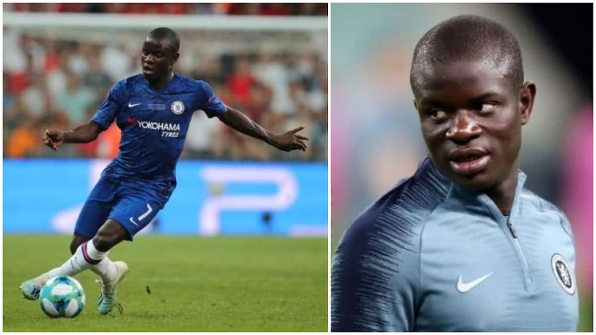 Chelsea star N'Golo Kante prefers to play in a more advanced midfield role
