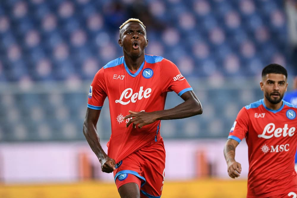 Jubilation as Nigerian striker scores 5th goal after 3 games for top European club